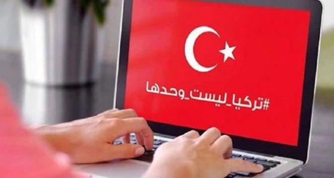 Arapça 'Türkiye' etiketine rokor paylaşım