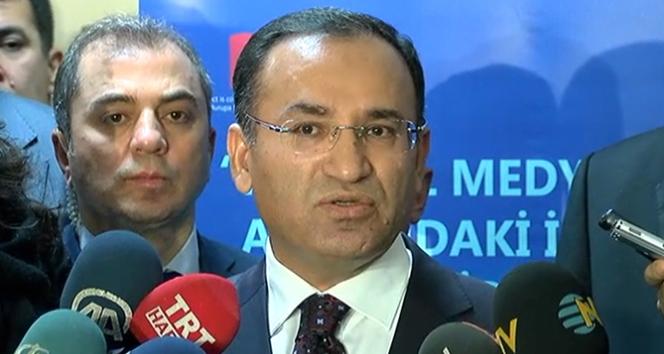 Bakan Bozdağ: 'Her terör örgütü birinin uşağıdır'
