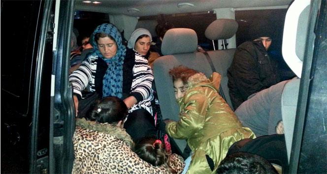 Kaçaklar VIP araçta yakalandı