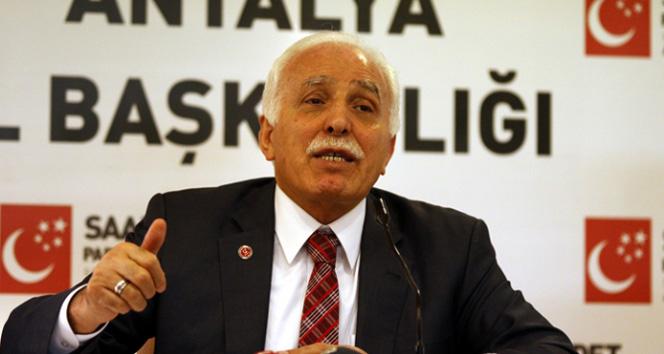 Saadet Partisi'nden AK PARTİ'ye destek!