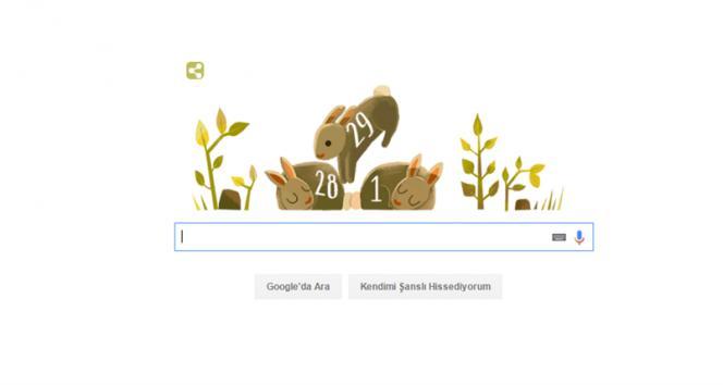 İşte Google'ın 29 Şubat Doodle'ı