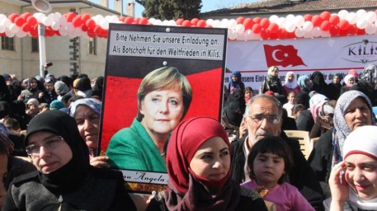 Kilis'ten Merkel'e 'Guinness' denemeli davetiye