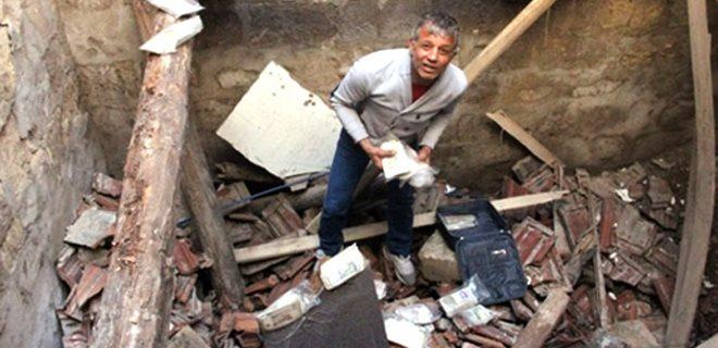 Gaziantep'te Para müzesi çöktü!