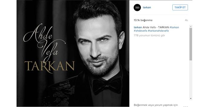 Tarkan'ın yeni albümü için tarih belli oldu