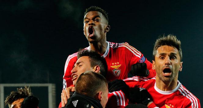 Benfica, çeyrek finalde