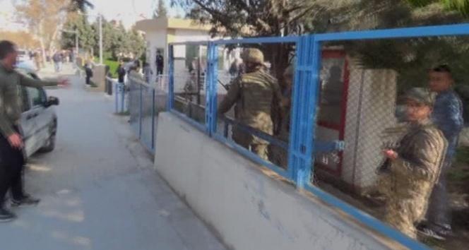 Jandarma lojmanlarına roket mermisi düştü