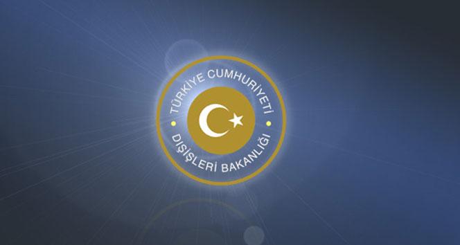 Dışişleri Bakanlığından 'kimyasal saldırı' açıklaması