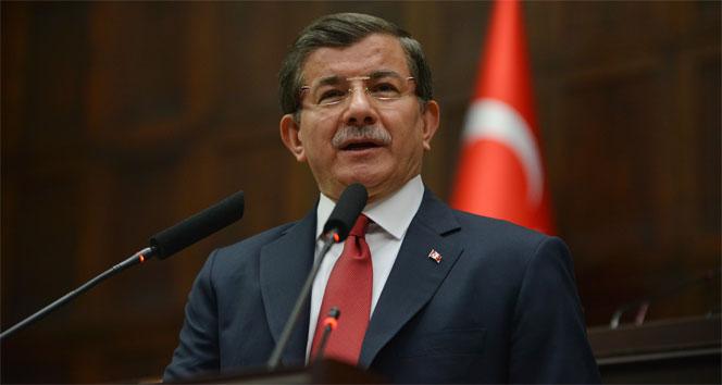 Başbakan Ahmet Davutoğlu'ndan taziye telefonu