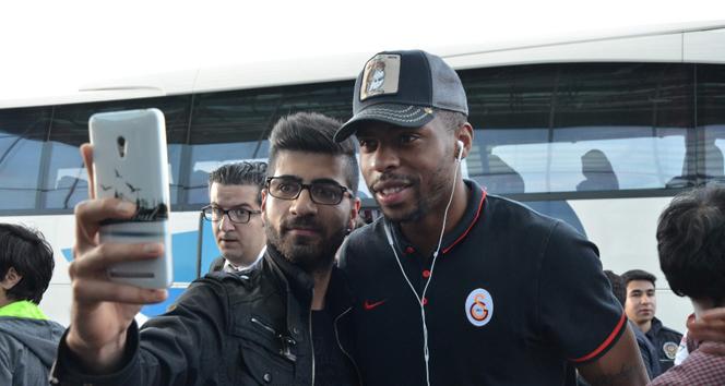 Galatasaray'a taraftar desteği