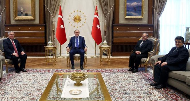 Erdoğan, Yargıtay Cumhuriyet Başsavcısı'nı kabul etti