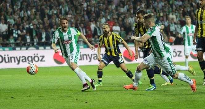 Konyaspor 2 Fenerbahçe 1 Maç özeti