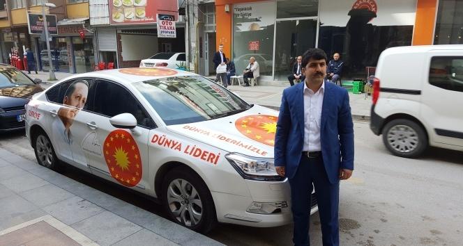 Erdoğan'a destek için Türkiye turuna çıktı