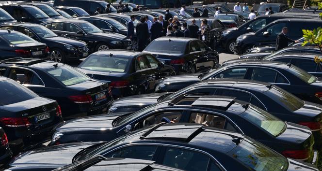 İslam İşbirliği Teşkilatı'na 500'e yakın lüks araç