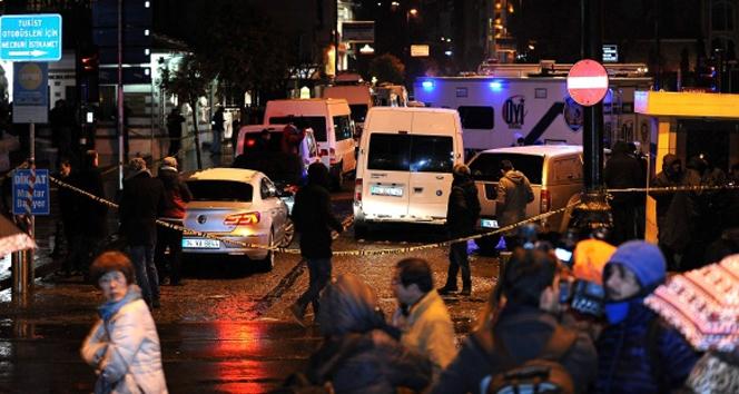 Sultanahmet'teki polis merkezine yapılan saldırıyla ilgili flaş gelişme!