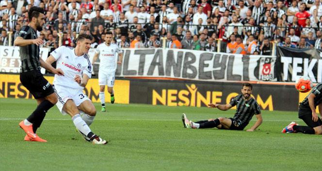Akhisar Belediyespor 3-3 Beşiktaş (Maç özeti)