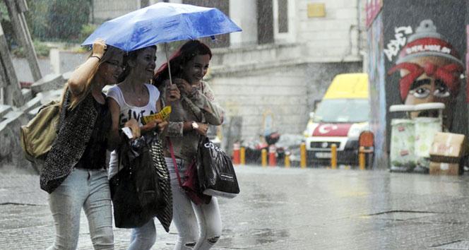 Marmara'nın batısında kuvvetli yağış bekleniyor.