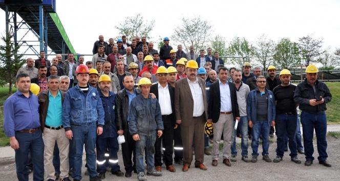 Yozgat'ta şeker işçilerinden 2 saat fazla çalışma eylemi