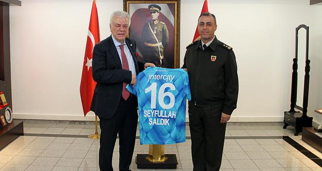Bursaspor'dan mehmetçiğe jest