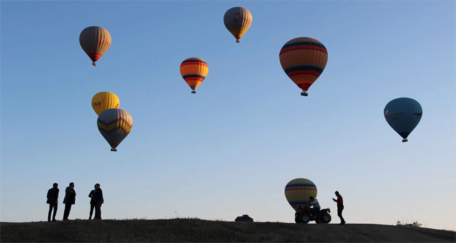 Kapadokya'ya gelen turist sayısı düştü