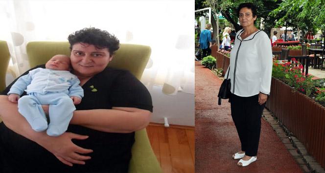 10 ayda 82 kilo verdi!