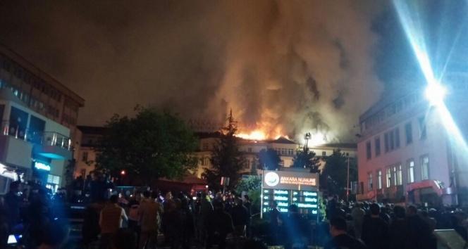 Ankara Numune Hastanesi'nde yangın