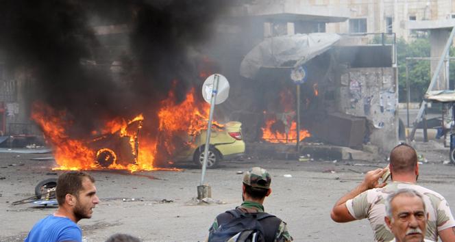 Suriye'de 7 bombalı saldırı! Yüzlerce kişi..