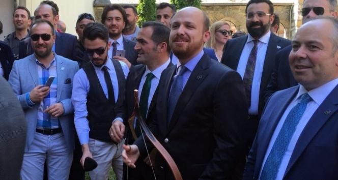 Bilal Erdoğan ok attı
