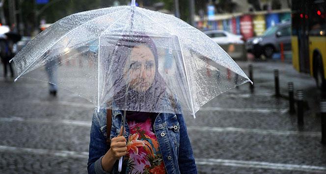 5 il için dolu ve sağanak yağış!