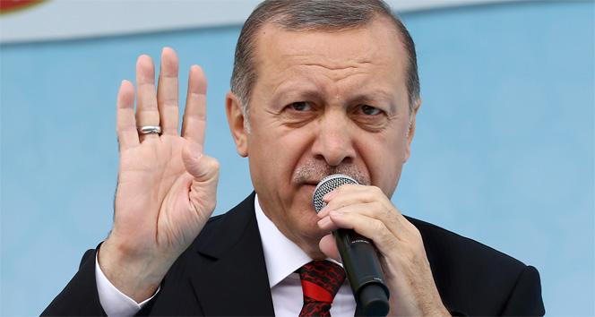 Erdoğan ABD'ye sert çıkıştı!