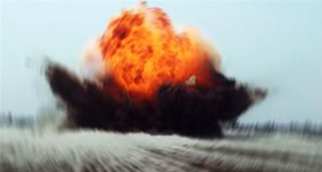 Silah fabrikasında korkutan patlama
