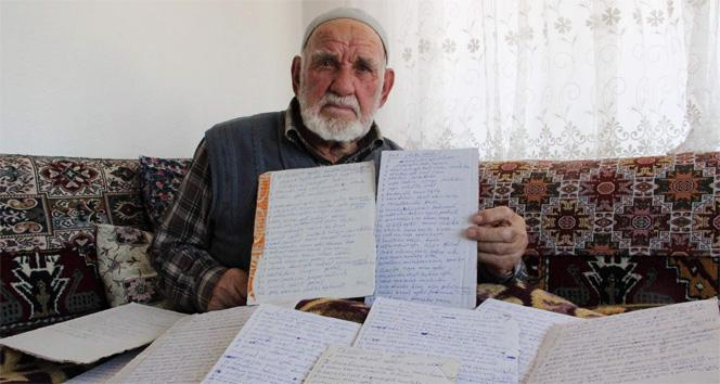 86 yaşındaki Arif dede öyle bir iş ile uğraşıyor ki..