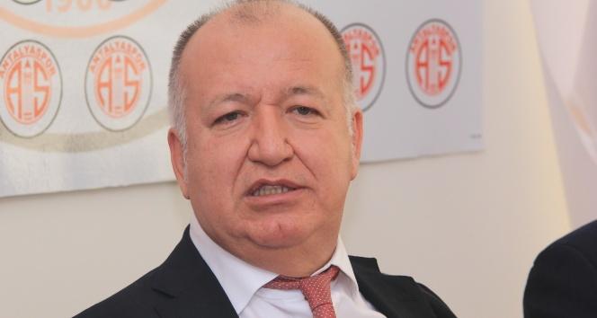 Antalyaspor Kulübü Başkanının şok kararı!