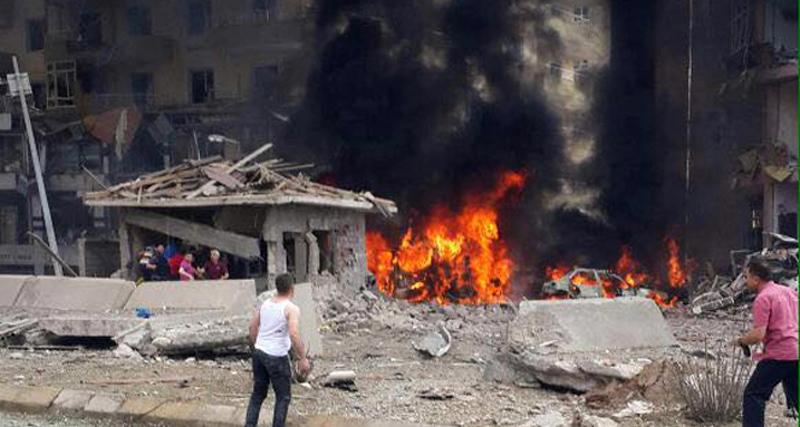 Midyat'ta emniyet müdürlüğüne bombalı saldırı