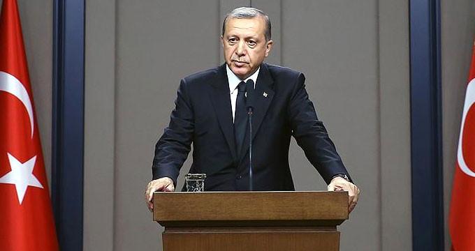 Cumhurbaşkanı Erdoğan'dan ''Fırat Kalkanı'' Açıklaması