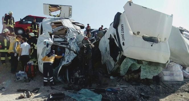 Konya'nın Ereğli ilçesinde feci kaza: 10 ölü