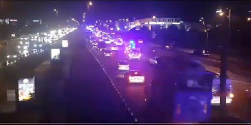 İstanbul'da korkutan görüntü