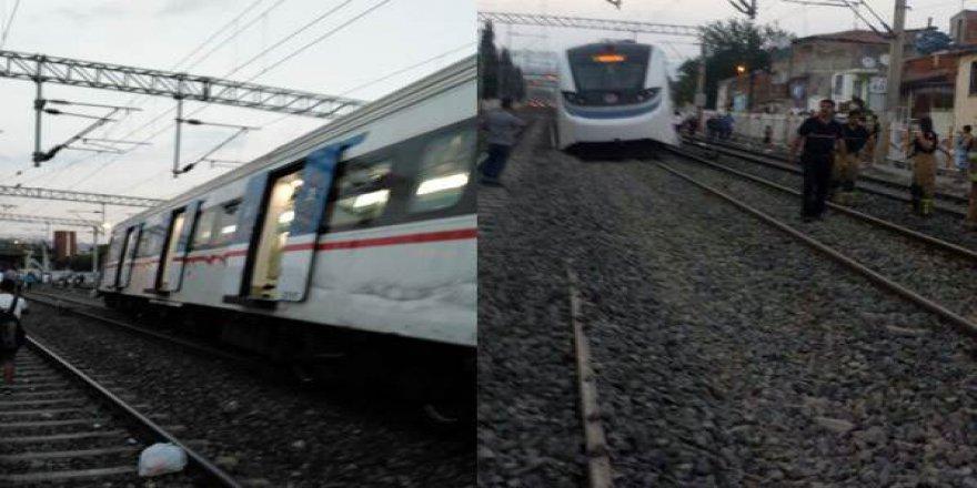 İzmir'de feci tren kazası!
