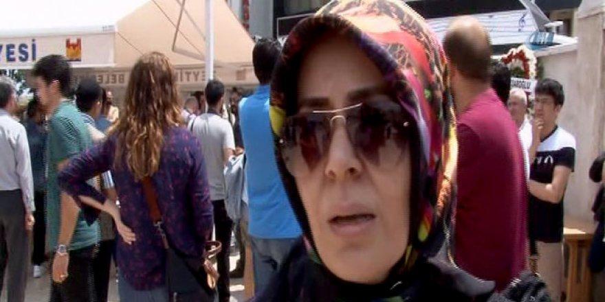 Patlamada ölenlerin yakınlarından, gazeteciye ders gibi cevap!