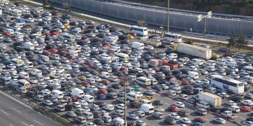 Bayram öncesi İstanbul trafiğinin son durumu!