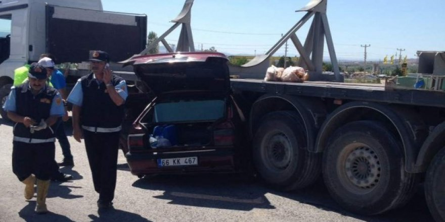 Yozgat'ta trafik kazası: 3 kişi..