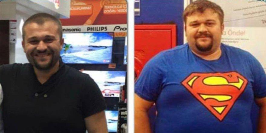 Bir yılda tam 80 kilo verdi, hayatı değişti!