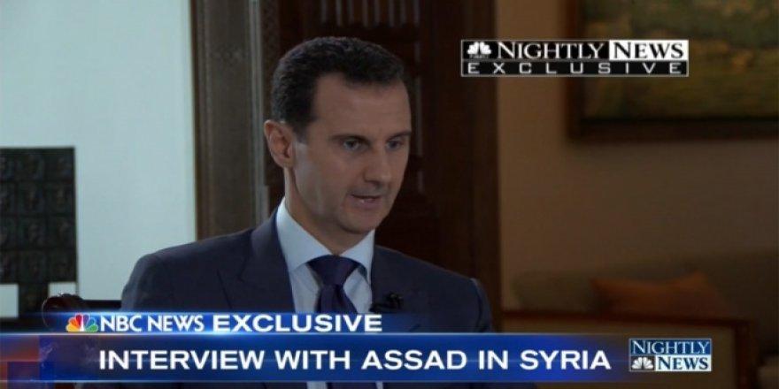 Beşar Esad, Putin'i öve öve bitiremedi