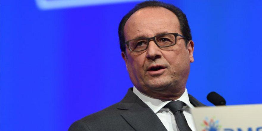 François Hollande: 'Önümüzde uzun bir savaş var'