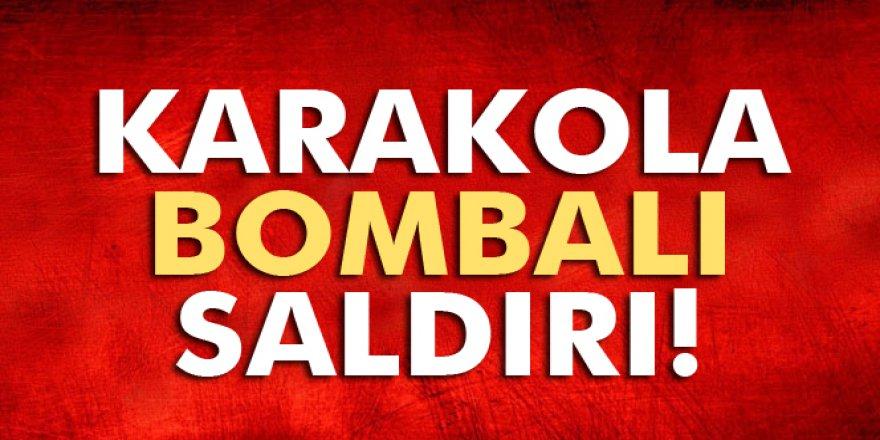 Tunceli'de jandarma karakoluna bombalı saldırı!