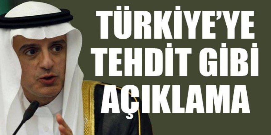Suudi Arabistan'dan Türkiye'ye tehdit gibi açıklama
