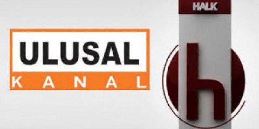 Halk TV ve Ulusal Kanal'ın yayını kesildi