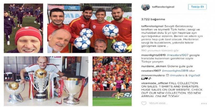 Claudio Taffarel Galatasaray'a veda etti!
