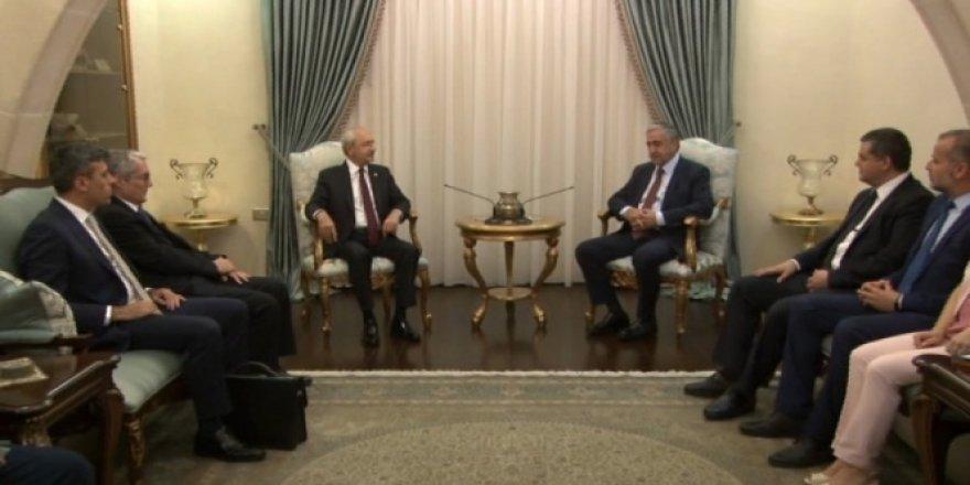 Kılıçdaroğlu, KKTC Cumhurbaşkanı Akıncı ile görüştü