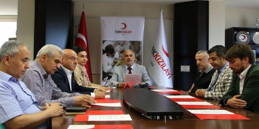 Kızılay'dan darbe girişimine karşı bildiri