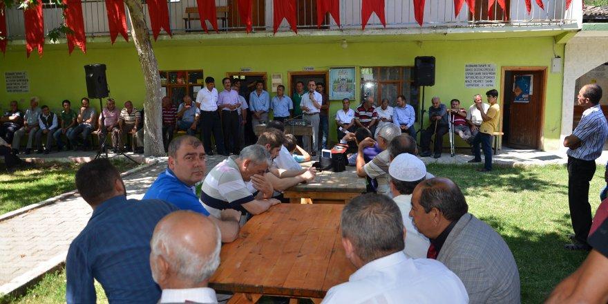 Demokrasi Nöbeti Köylerde de Devam Ediyor